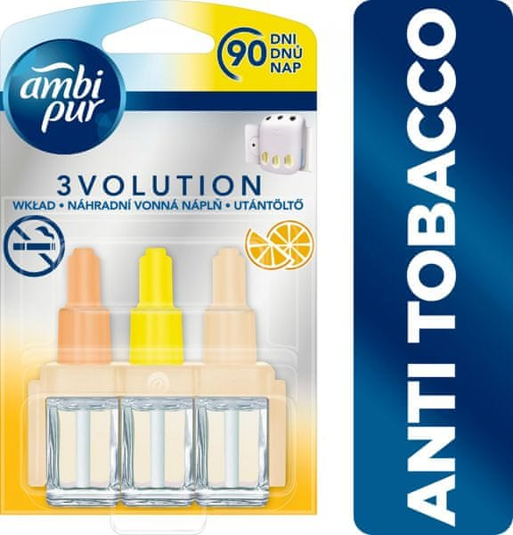 Ambi Pur 3vol náplň Anti-tobacco Citrus 20 ml