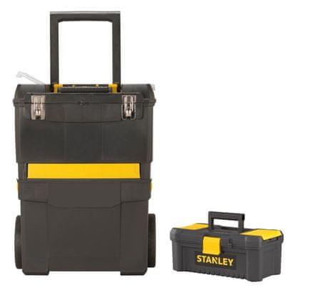"""Stanley Zestaw skrzynek: Mobilny warsztat + skrzynka na narzędzia 12,5"""""""