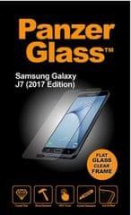 PanzerGlass zaščitno steklo za Samsung Galaxy J7 (2017), črno