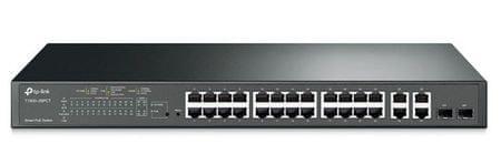 TP-Link Switch JetStream T1500-28PCT 24-port 4x Gigabit + 2x SFP