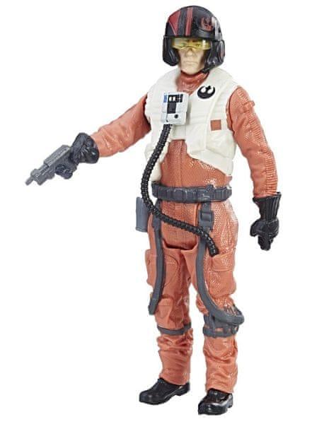 Star Wars E8 Force Link figurka s doplňky - Poe Dameron