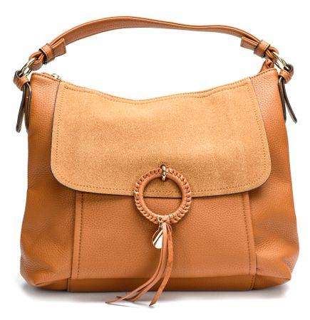 Bessie London ženska ročna torbica rjava