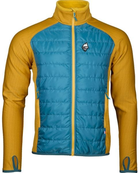 High Point Flow 2.0 Jacket Petrol/yellow L