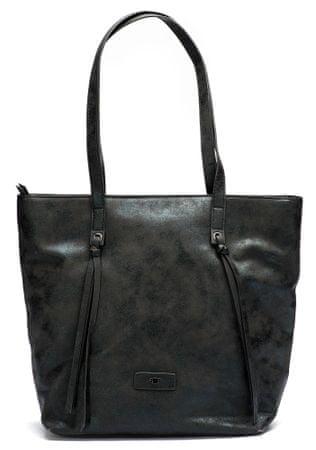 Tom Tailor ženska ročna torbica črna Maja
