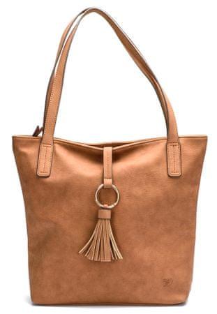 Tom Tailor ženska ročna torbica rjava Alma