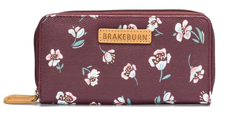 Brakeburn dámská vínová peněženka
