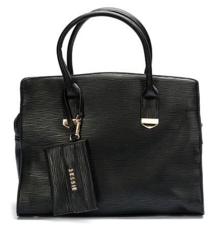 Bessie London ženska ročna torbica UNI črna