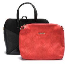 Desigual ženska ročna torbica črna Hamar Cougar 3in1