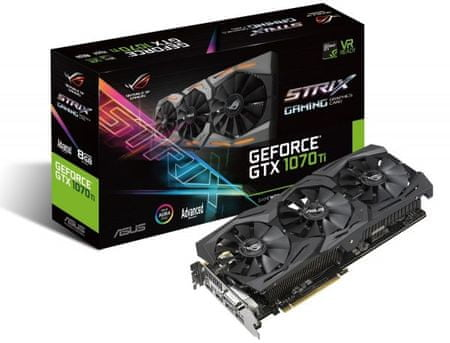 Asus GeForce ROG-STRIX-GTX1070TI-A8G-GAMING, 8GB GDDR5