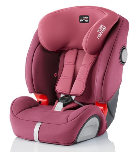 Britax EVOLVA 123 SL SICT 2017, Wine Rose