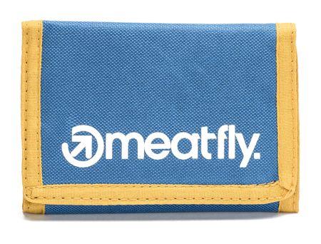 MEATFLY moški denarnica Vega UNI modra