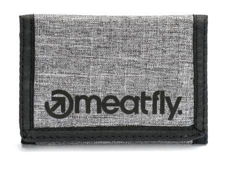 MEATFLY moški denarnica Vega UNI temno siva