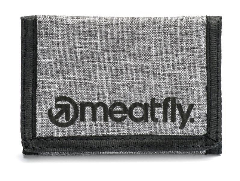 MEATFLY pánská peněženka Vega uni tmavě šedá