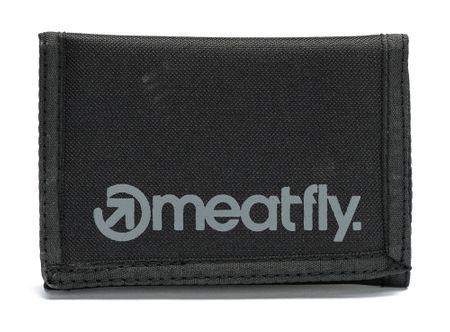 MEATFLY moški denarnica Vega UNI črna