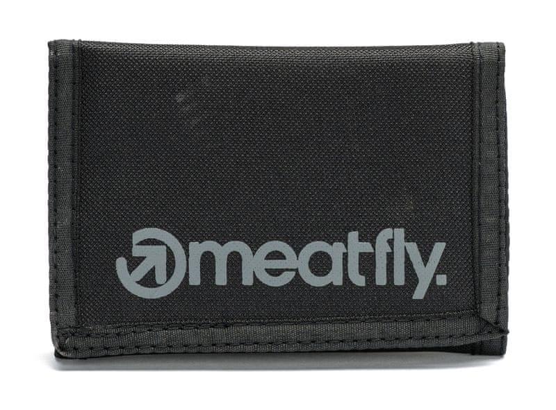 MEATFLY pánská peněženka Vega uni černá