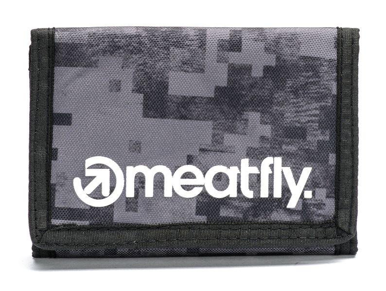 MEATFLY pánská peněženka Vega uni šedá