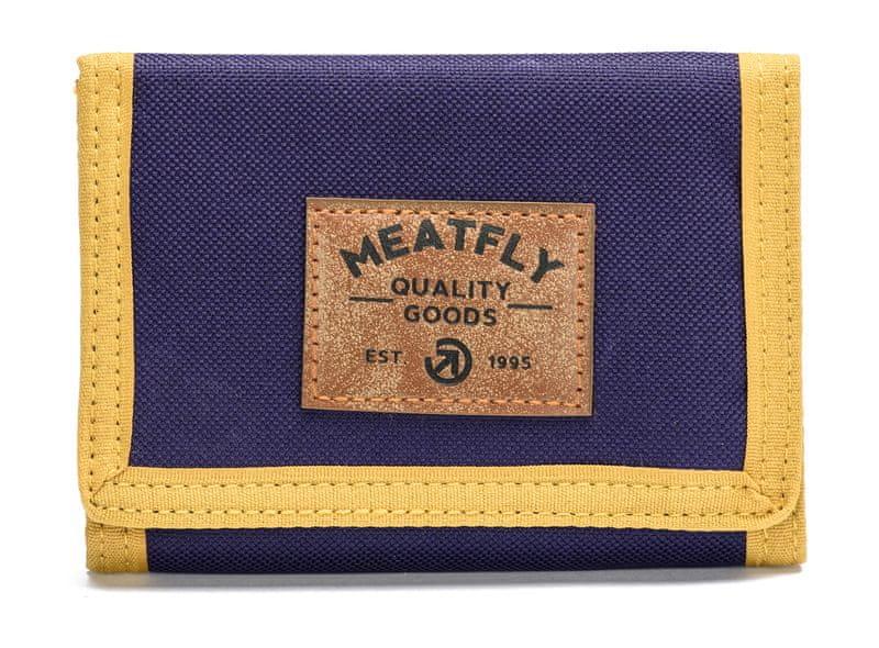 MEATFLY pánská modrá peněženka Jules