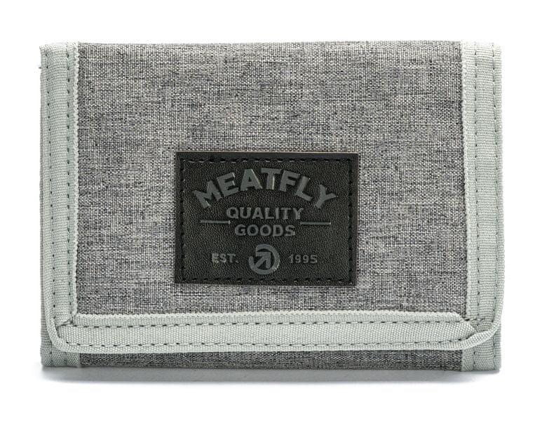 MEATFLY pánská šedá peněženka Jules