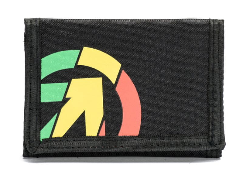 MEATFLY pánská černá peněženka Gimp
