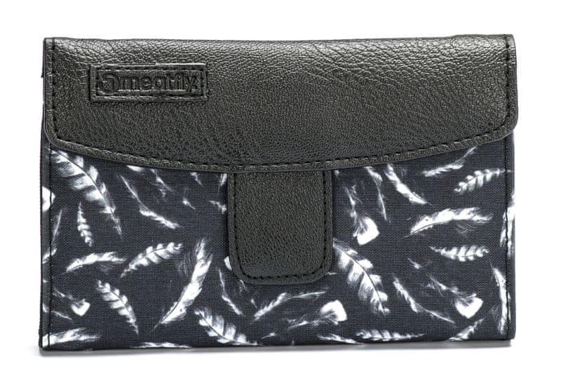 MEATFLY dámská černá peněženka Mia