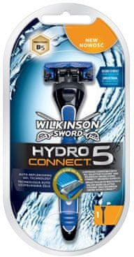 Wilkinson Sword HYDRO Connect 5 holící strojek + 1 hlavice