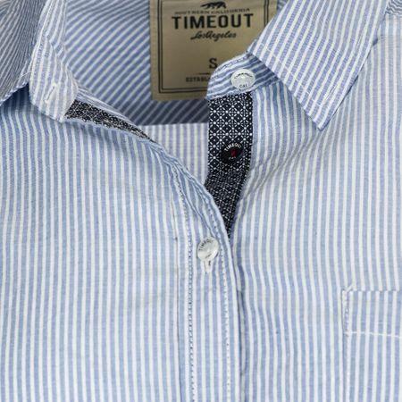 Timeout dámská košile L modrá  00e9f78fa8