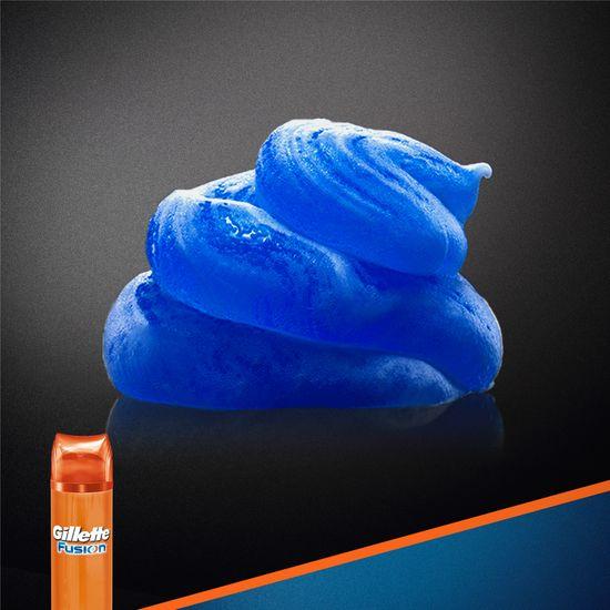 Gillette Fusion Hydrating Gel na holení 200 ml + Balzám 3v1 50 ml (dárková sada)
