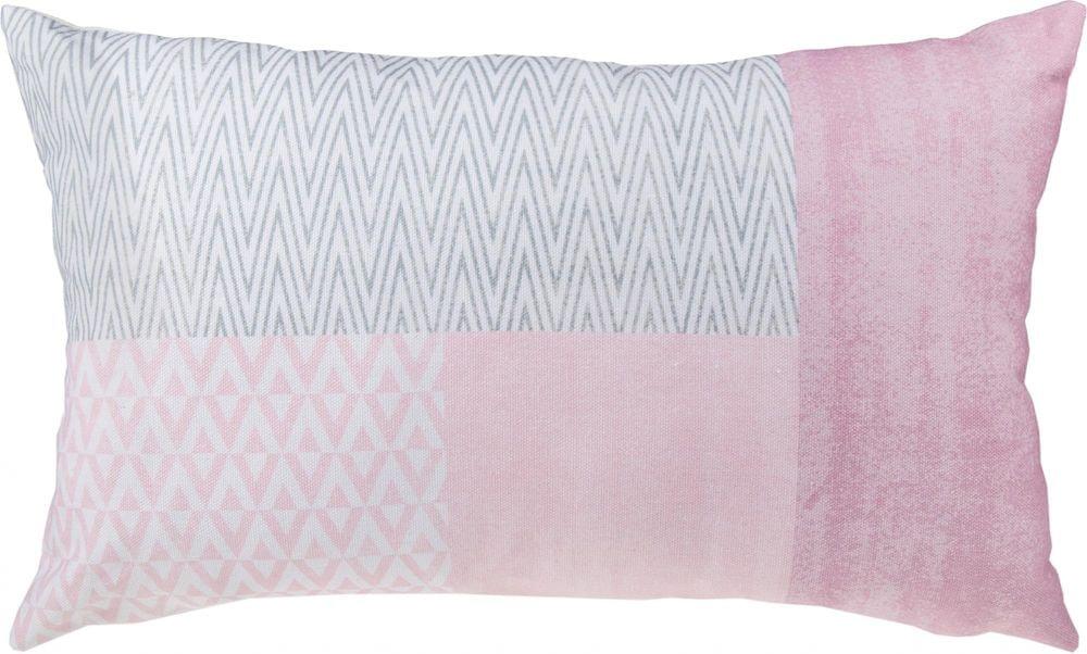 Toro Růžový polštář se zipem 30x50 cm