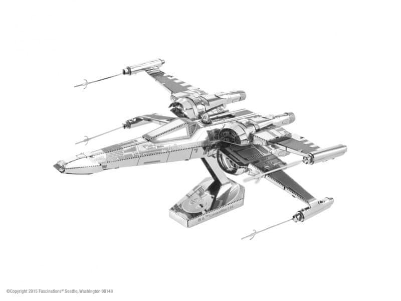 Piatnik Metal Earth SW Poe Dameron´s X-Wing Fighter