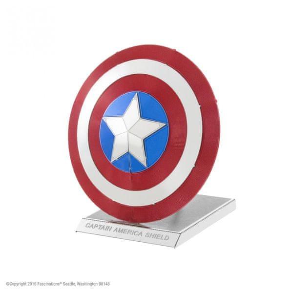 Piatnik Metal Earth Marvel Captain America Shield