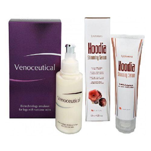 Herb Pharma Venoceutical - biotechnologická emulze na křečové žíly 125 ml + Hoodia slimming serum 120 ml
