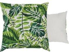 TORO poduszka tropikalne liście, 40x40 cm
