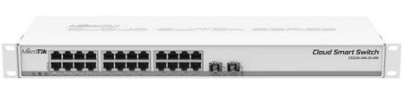 Mikrotik mrežno stikalo CSS326-24G-2S+RM, 24-port Gigabit 2x SFP
