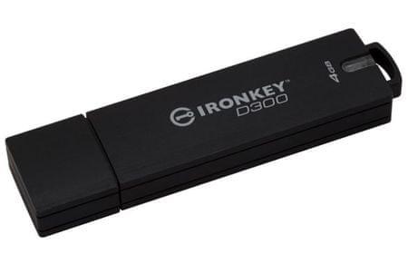 Kingston pametni USB ključ IronKey Basic D300 4GB (IKD300/4GB)