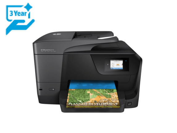 HP OfficeJet Pro 8710 All-in-One (D9L18A) + Cashback 1 000 Kč!