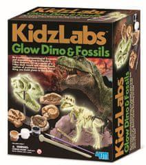 4M Svetleči dinozaver in fosili