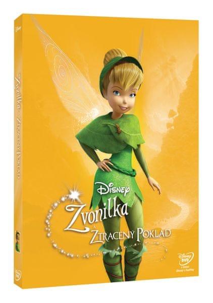 Zvonilka a ztracený poklad (Edice Disney Víly) - DVD