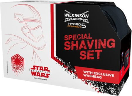 Wilkinson Sword HYDRO Connect 5 Strojek + toaletní taška - STAR WARS