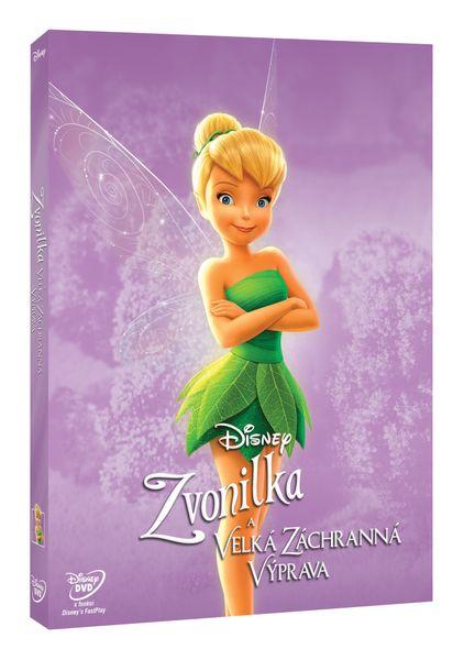 Zvonilka a velká záchranná výprava (Edice Disney Víly) - DVD