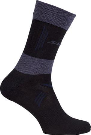 Swix Cross Country light ponožky Černá 43/45