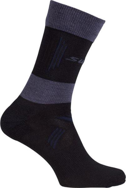 Swix Cross Country light ponožky Černá 40/42