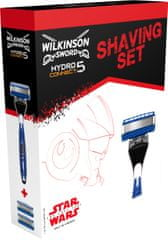 Wilkinson Sword HYDRO Connect 5 borotva + 2 fej - Box STAR WARS