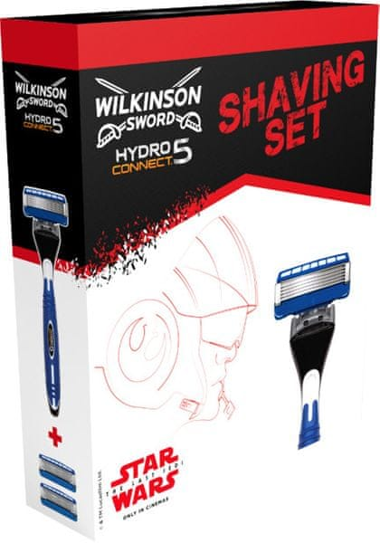 Wilkinson Sword HYDRO Connect 5 Strojek + 2 hlavice - Box STAR WARS