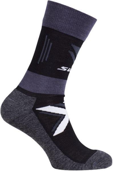 Swix Cross Country warm ponožky Černá 40/42