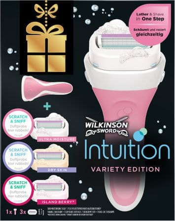 Wilkinson Sword Intuition borotva + 3 fej (mix)