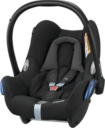 Maxi-Cosi otroški avtosedež (lupinica) Cabriofix Nomad Black, 2018, črn