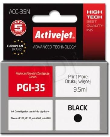 ActiveJet kompatibilna kartuša Canon PGI-35, črna (ACC-35N)