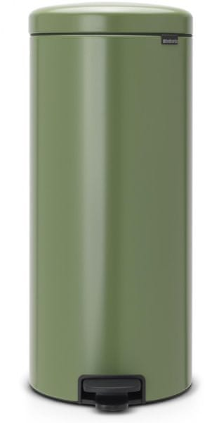 Brabantia Pedálový koš newIcon 30 l, mechově zelená