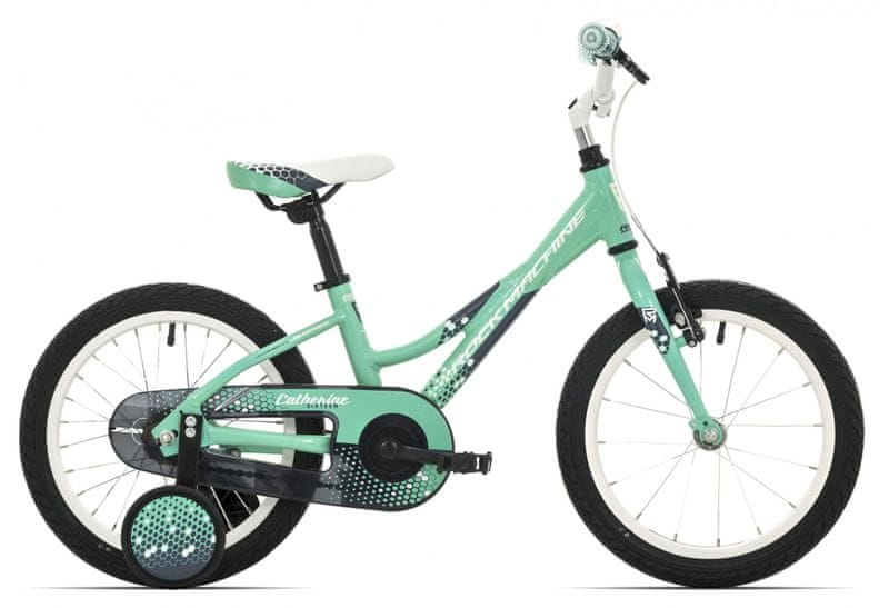 "Rock Machine 16"" Catherine 16 Mint green/white/grey 9"""