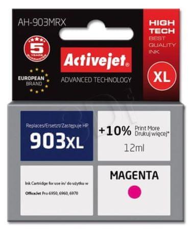 ActiveJet kompatibilna kartuša HP 903 XL, magenta (T6M07AE)